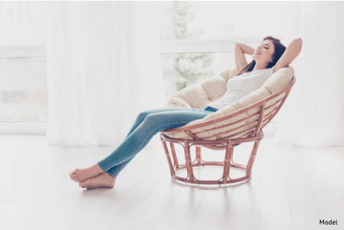 Resting is an essential part of your breast augmentation recovery.